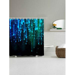Fantasy Star Night Print Polyester Waterproof Shower Curtain -