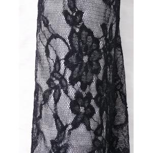 Lace Panel Criss Cross Arm Sleeves -