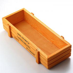 Rectangular Storage Box Succulent Plants Flower Pot Wood Planter -