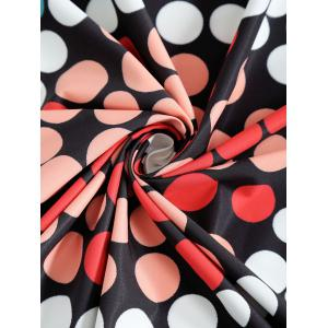 Polka Dot Print Round Beach Throw -