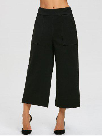 Fashion High Waist Capri Palazzo Pants