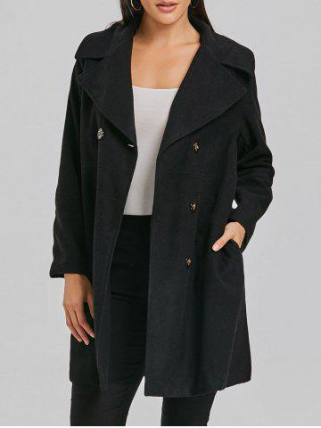 Buy Double Breasted Wool Coat