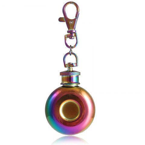 Affordable 1oz Stainless Steel Mini Keychain Hip Flask
