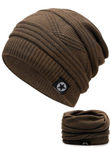 Shop Outdoor Multipurpose Empty Top Crochet Knitted Beanie