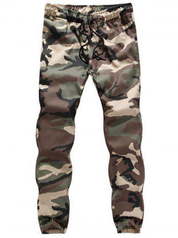 Shop Drawstring Camouflage Jogger Pants