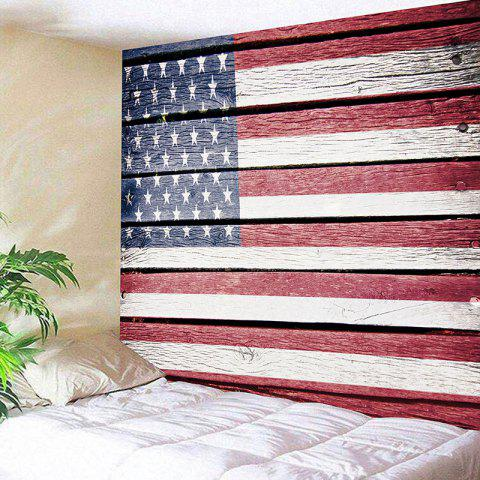 Discount American Flag Print Wall Decor Hanging Tapestry