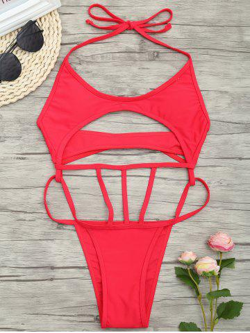 Outfit Low Waist One Piece Cut Out Swimsuit