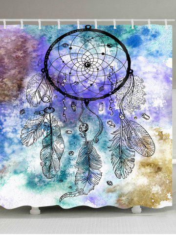 Affordable Dreamcatcher Watercolor Painting Waterproof Shower Curtain