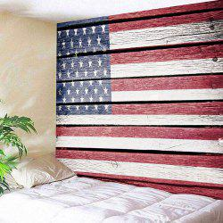 American Flag Print Wall Decor Hanging Tapestry -