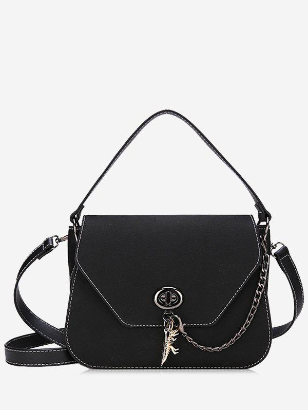 Latest PU Leather Stitching Handbag With Strap