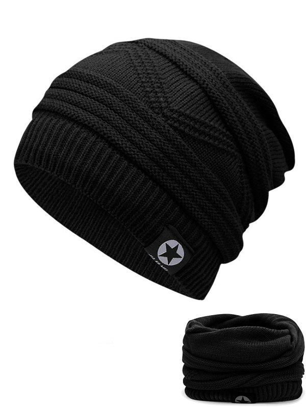 Store Outdoor Multipurpose Empty Top Crochet Knitted Beanie