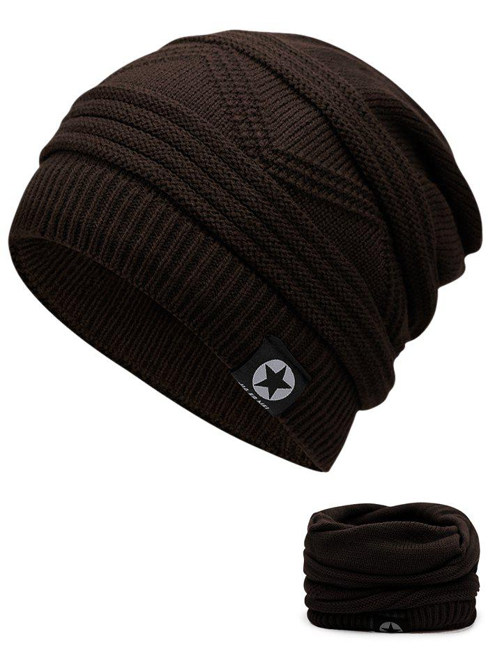 Affordable Outdoor Multipurpose Empty Top Crochet Knitted Beanie