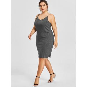 Cami Plus Size Bodycon Jersey Dress -