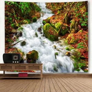 Wall Decor Stream Printed Bedroom Tapestry -