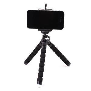 Flexible Mini Tripod With Universal Clip for Phone -