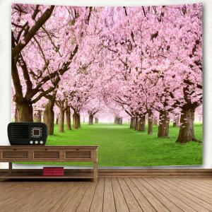 Flower Forest Pattern Wall Hanging Tapestry -