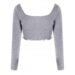 Top taille empire à taille basse -