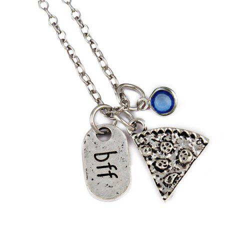 Chic Simple BFF Carved Friendship Necklace