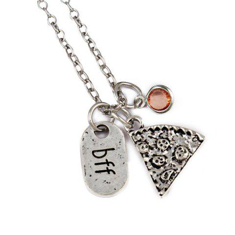 Hot Simple BFF Carved Friendship Necklace