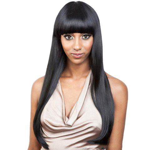 Store Full Bang Long Straight Capless Synthetic Wig