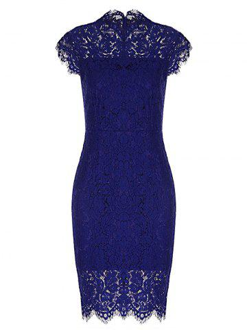 Best Fitted Vintage Lace Dress