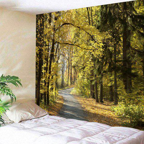 Online Wall Hanging Forest Path Print Tapestry