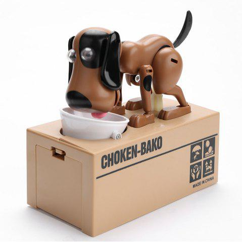 Shops Cute Electric Hungry Eating Dog Money Boxes
