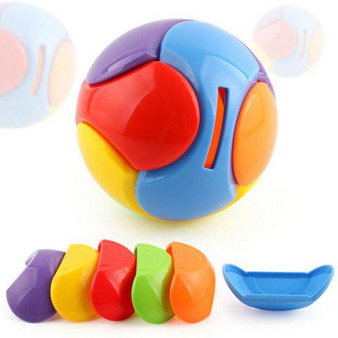 Outfits Building Block DIY Puzzle Toy Deposit Money Ball