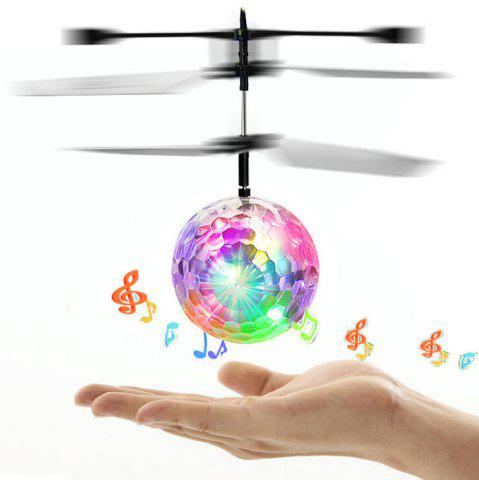Best Flashing LED Built-in Disco Music Induction Flying Ball