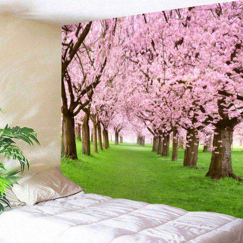 Online Flower Forest Pattern Wall Hanging Tapestry