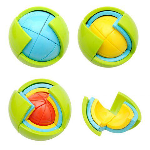 Affordable 3D Educational Puzzle Toy DIY Maze Toy Wisdom Ball