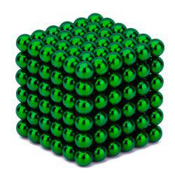 216 Pcs 5mm Magnetic Balls Stress Relief Building Toys - Green