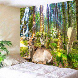 Nature Animal Pattern Wall Decor Hanging Tapestry -