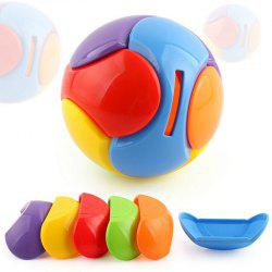Building Block DIY Puzzle Toy Deposit Money Ball -