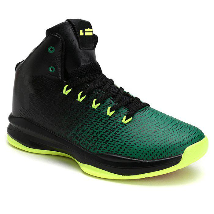 Online Contrasting Color Athletic Shoes
