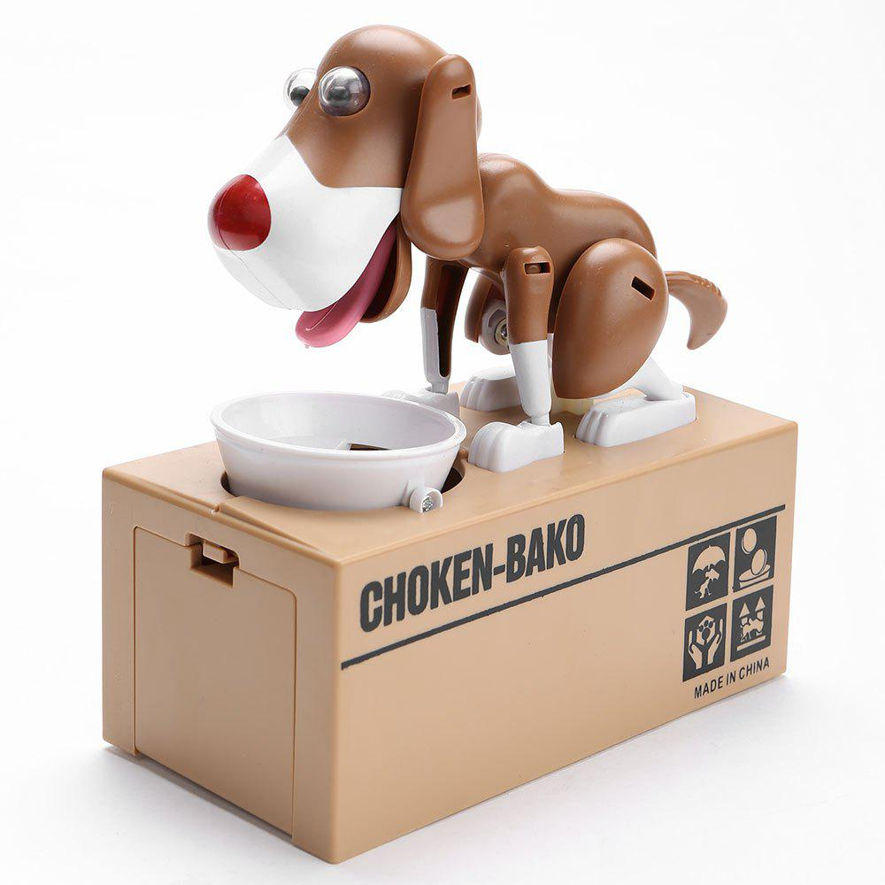 Affordable Cute Electric Hungry Eating Dog Money Boxes