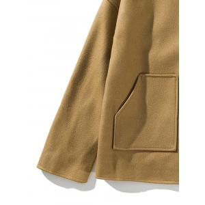 Pockets Cloak Woolen Jacket -