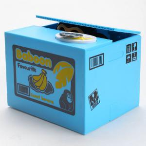 Automatic Stole Coin Monkey Shape Money Box -