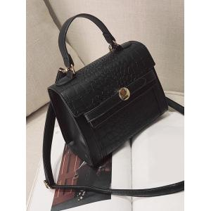 Embossing PU Leather Handbag -