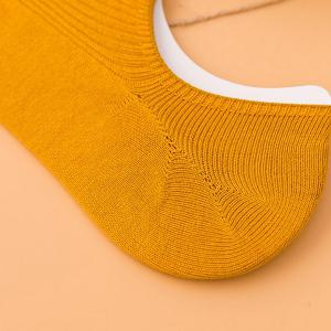 Soft Solid Color Crochet Knitted Ankle Socks -