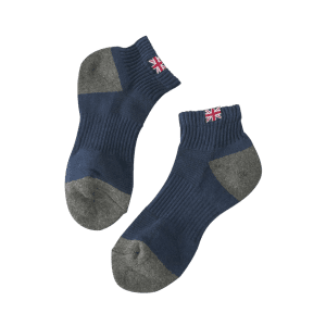 The Union Flag Pattern Anklet Socks -