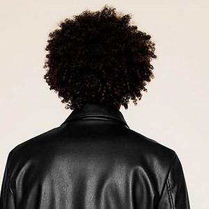Short Side Bang Fluffy Afro Curly Synthetic Wig For Men -