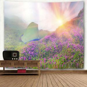 Wall Hanging Sunrise Wild Tent Print Tapestry -