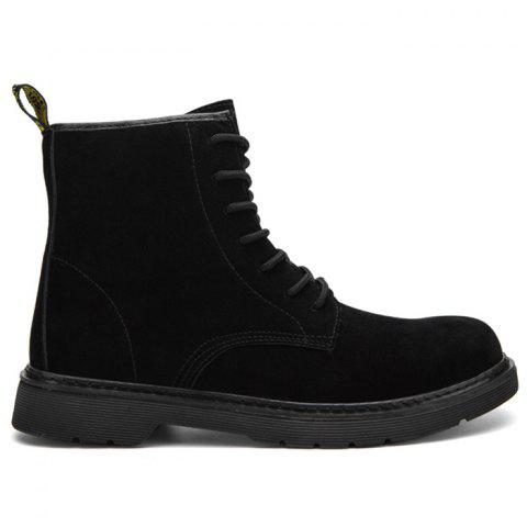 Latest Back Pull-tab Lace Up Chukka Boots