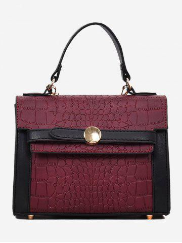 Store Embossing PU Leather Handbag