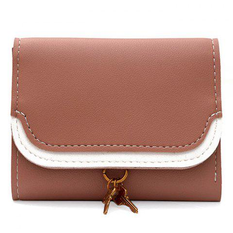 Outfit Faux Leather Tri Fold Wallet