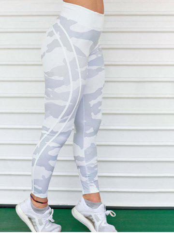 Online Camouflage Print Active Leggings