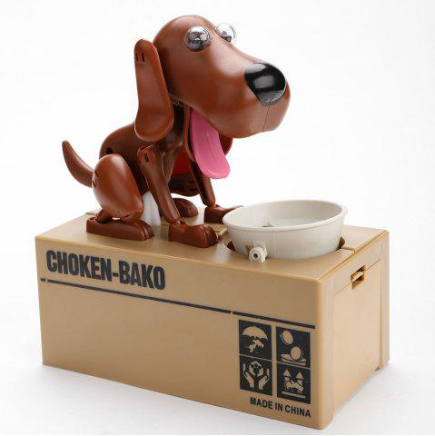 Buy Cute Electric Hungry Eating Dog Money Boxes