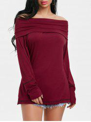 Convertible Off The Shoulder Tee -