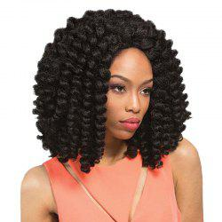 Medium Twisted Jumbo Braids Synthetic Wig -